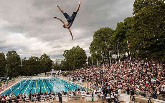 Choáng váng trước môn thể thao nhảy cầu tử thần chỉ riêng Na Uy mới có