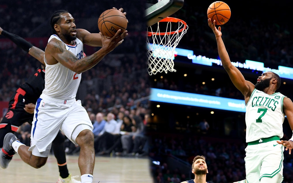 NBA 2019-2020 ngày 12/11: Boston Celtics thắng 8 trận liên tiếp, Toronto Raptors gục ngã trước Los Angeles Clippers sau một trận chiến đầy kịch tính