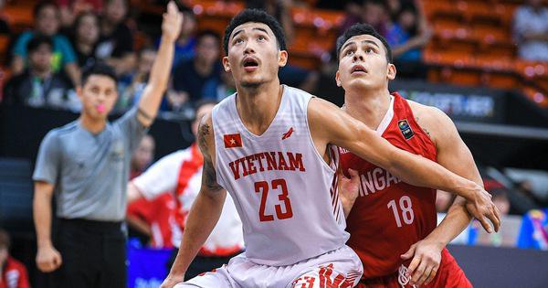 SEA Games 30: Đội tuyển bóng rổ Việt Nam nằm cùng bảng Philippines, cạnh tranh tấm vé đi tiếp cùng Singapore