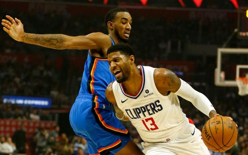 NBA 19-20: Tỏa sáng ở những giây cuối cùng, Paul George giúp Los Angeles Clippers giành chiến thắng trước Oklahoma City Thunder