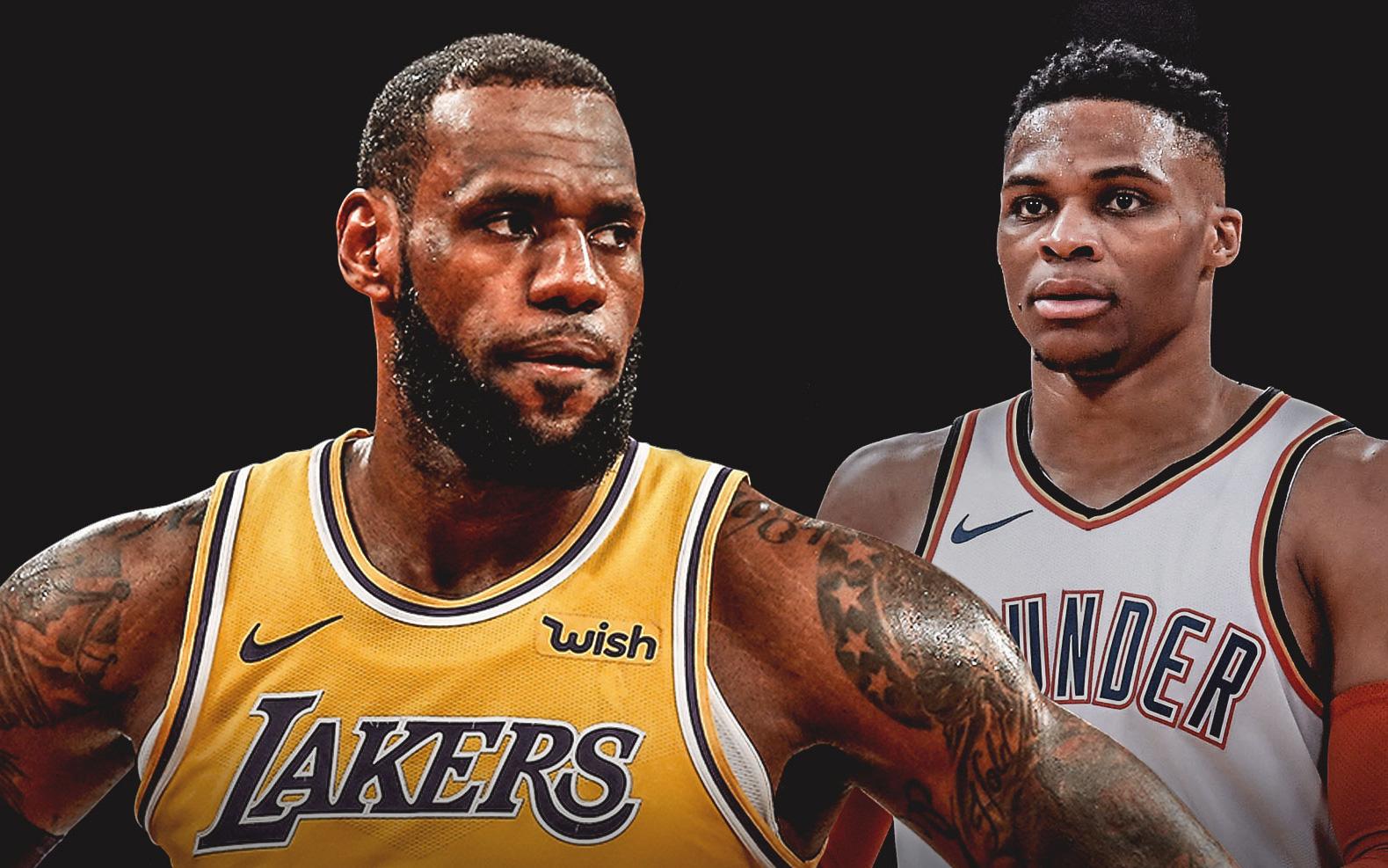 LeBron James vượt mặt Russell Westbrook để xác lập kỷ lục không tưởng tại NBA