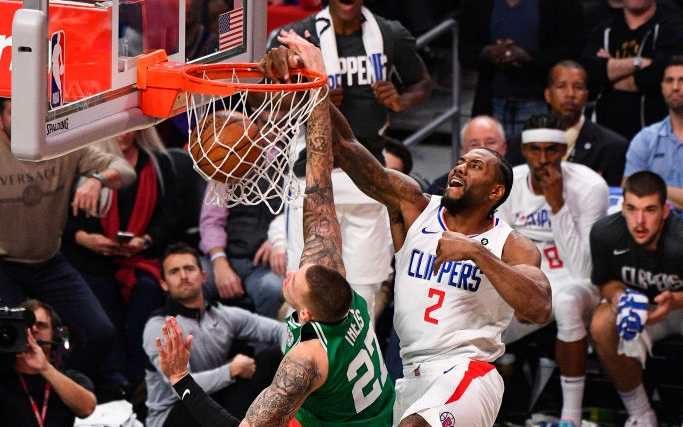 NBA 19-20: Los Angeles Clippers lội ngược dòng kịch tính, đánh bại Boston Celtics tại hiệp phụ