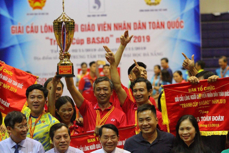 Bế mạc giải Cầu lông Người giáo viên nhân dân Toàn quốc 2019 - Ảnh 3.