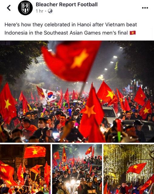 Mạng xã hội thể thao hàng đầu thế giới choáng ngợp với hình ảnh đi bão của người dân Việt Nam - Ảnh 2.