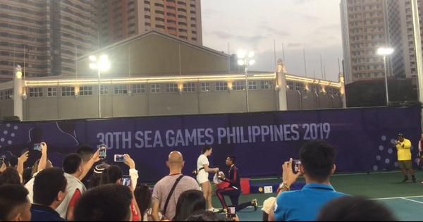 Cầu hôn bạn gái ngay sau khi giành HCB và cái kết khiến tay vợt Philippines trở thành VĐV hạnh phúc nhất SEA Games 30