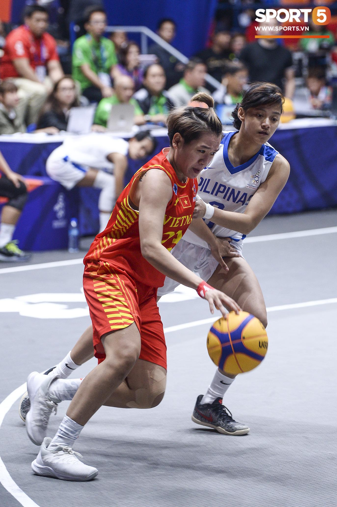 Nỗ lực hết mình nhưng vẫn không thể tạo nên bất ngờ trước Philippines, đội tuyển nữ Việt Nam vẫn còn cơ hội cạnh tranh huy chương đồng tại SEA Games 30 - Ảnh 7.