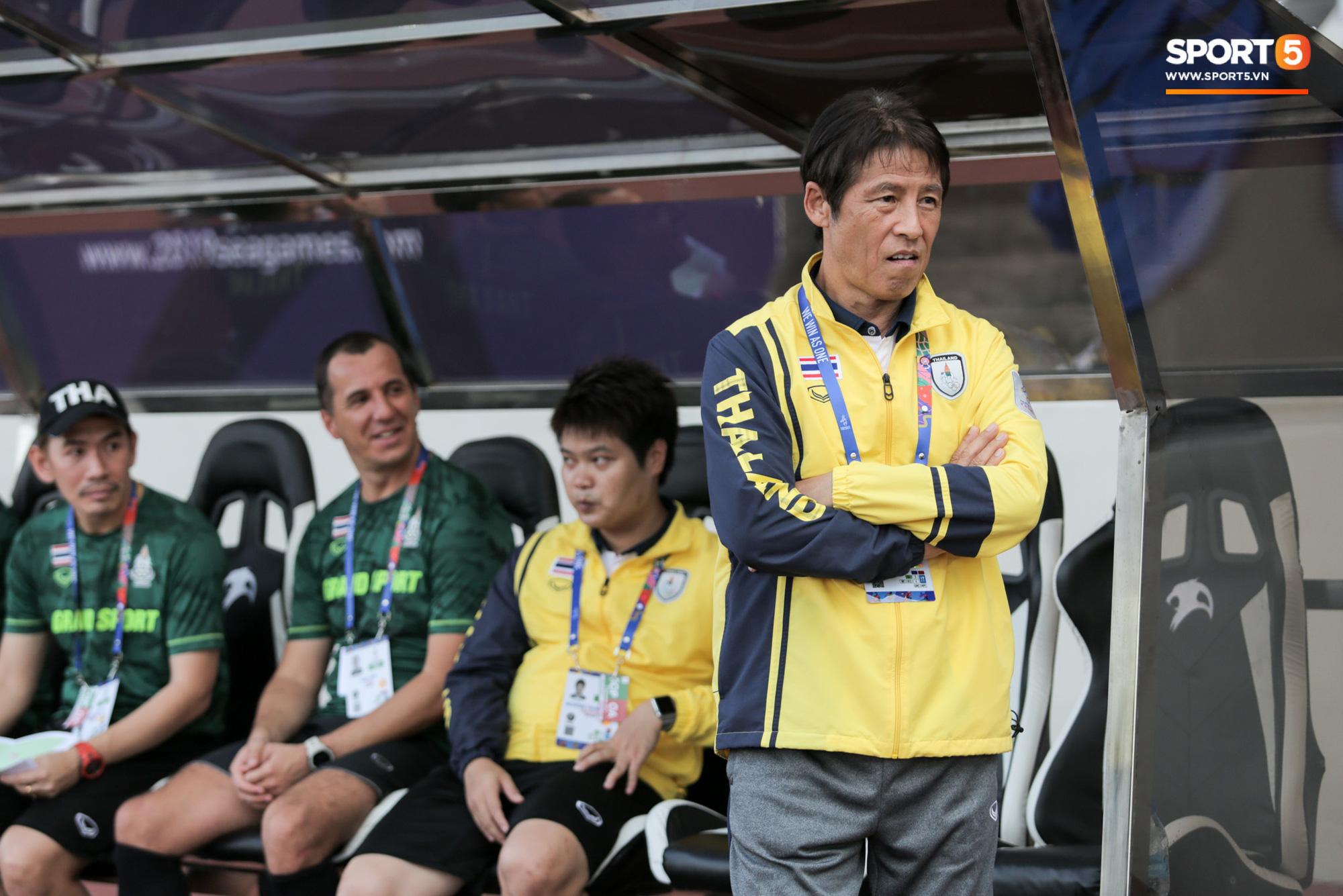 HLV U22 Thái Lan chủ động sang bắt tay thầy Park, hẹn phân thắng bại ở trận tiếp theo sau 3 lần toàn hoà - Ảnh 4.