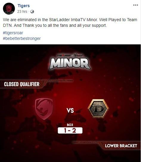 Không thể tham dự Major, Dendi và đồng đội tiếp tục nhận trái đắng ở giải đấu cấp độ nhỏ hơn - Ảnh 2.