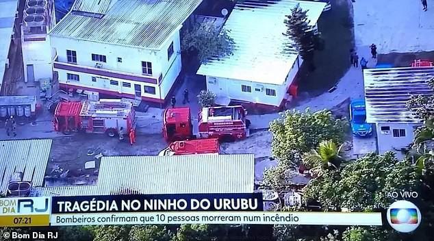 Kinh hoàng: Hỏa hoạn lúc rạng sáng khiến 10 cầu thủ trẻ thiệt mạng ở Brazil - Ảnh 1.
