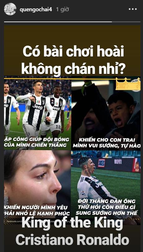 Sao bóng đá Việt đăng đàn nức nở ca ngợi màn trình diễn như lên đồng của Ronaldo - Ảnh 1.