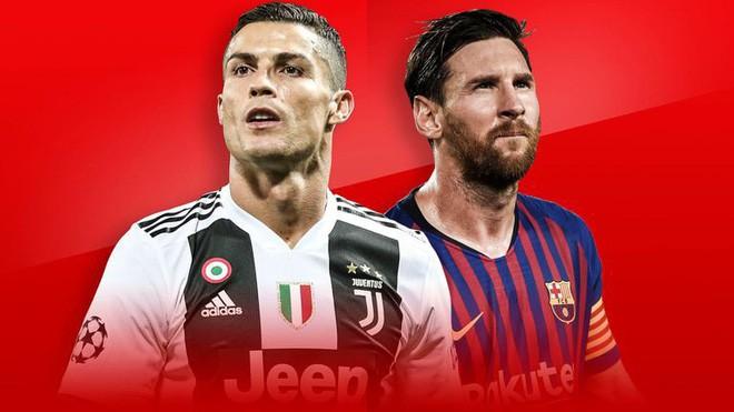 Ronaldo không ngồi chung mâm thiên tài với Messi - Ảnh 1.