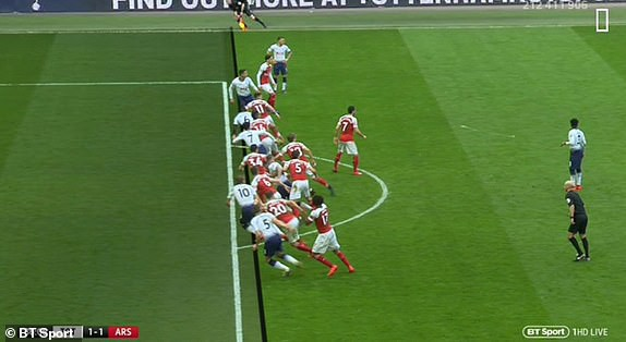 Hai quyết định sai lầm của trọng tài góp phần khiến Arsenal bị chia điểm với Tottenham - Ảnh 8.