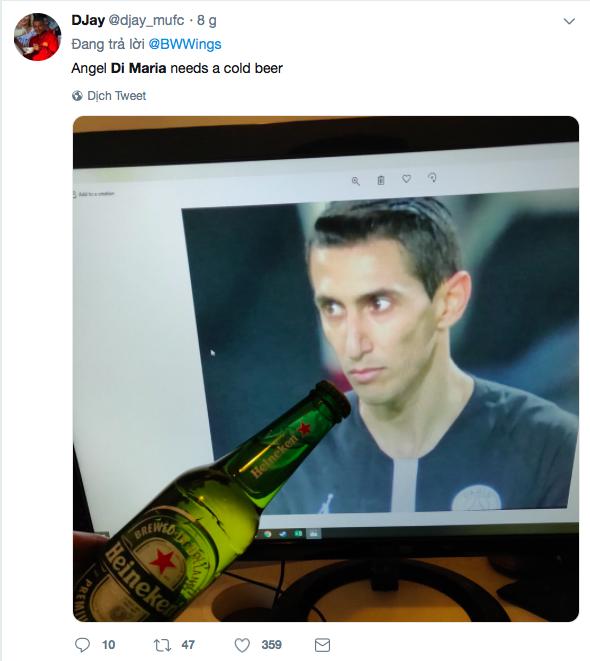 Dân mạng hả hê khi thấy ngôi sao PSG dính khẩu nghiệp vì to gan chửi fan MU ở trận lượt đi - Ảnh 8.
