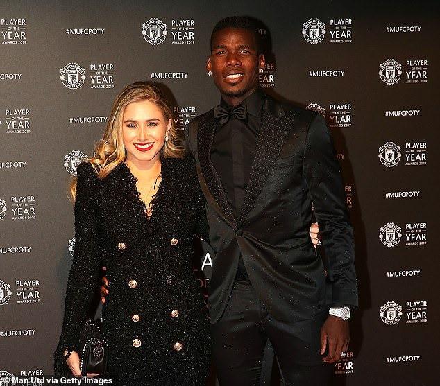 Dàn sao Manchester United lộng lẫy trên thảm đỏ trong ngày tổng kết mùa giải của câu lạc bộ - Ảnh 6.