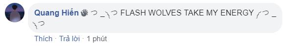Hi vọng Phong Vũ Buffalo lách qua khe cửa hẹp, fan đua nhau cổ vũ Flash Wolves làm nên kỳ tích trước IG - Ảnh 2.