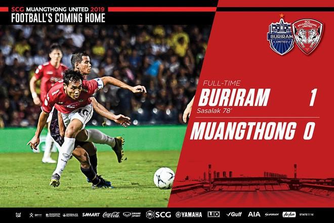 Buriram United 1-0 Muangthong United: Lọt lưới bởi bàn thua đáng tiếc, Văn Lâm bất lực nhìn chiến thắng thuộc về CLB của Xuân Trường - Ảnh 3.