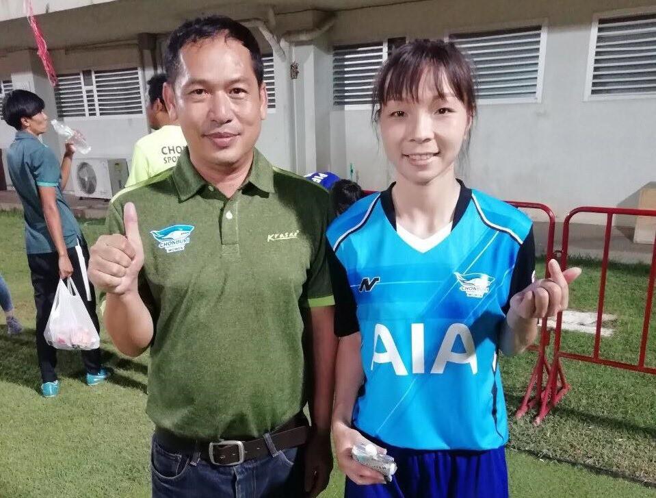 Tuyển thủ nữ Việt Nam cùng Chonburi vào chung kết giải VĐQG Thái Lan 2019 - Ảnh 1.