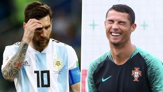 Messi bị troll không thương tiếc trên mạng xã hội sau khi Ronaldo giành thêm danh hiệu với ĐT Bồ Đào Nha - Ảnh 2.