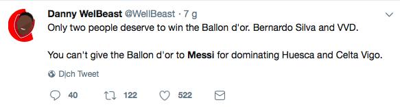Messi bị troll không thương tiếc trên mạng xã hội sau khi Ronaldo giành thêm danh hiệu với ĐT Bồ Đào Nha - Ảnh 6.
