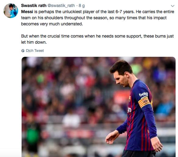 Messi bị troll không thương tiếc trên mạng xã hội sau khi Ronaldo giành thêm danh hiệu với ĐT Bồ Đào Nha - Ảnh 7.