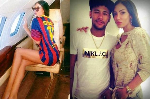 Góc thốn: Tình cũ nóng bỏng của Neymar lái siêu xe Bò điên đâm sầm xuống bể bơi vì lý do cực con gái - Ảnh 2.