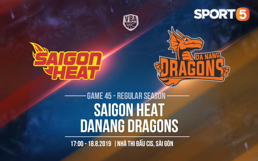 Vì mục tiêu TOP 2, Saigon Heat bắt buộc phải tung toàn sức cho trận đấu với Danang Dragons