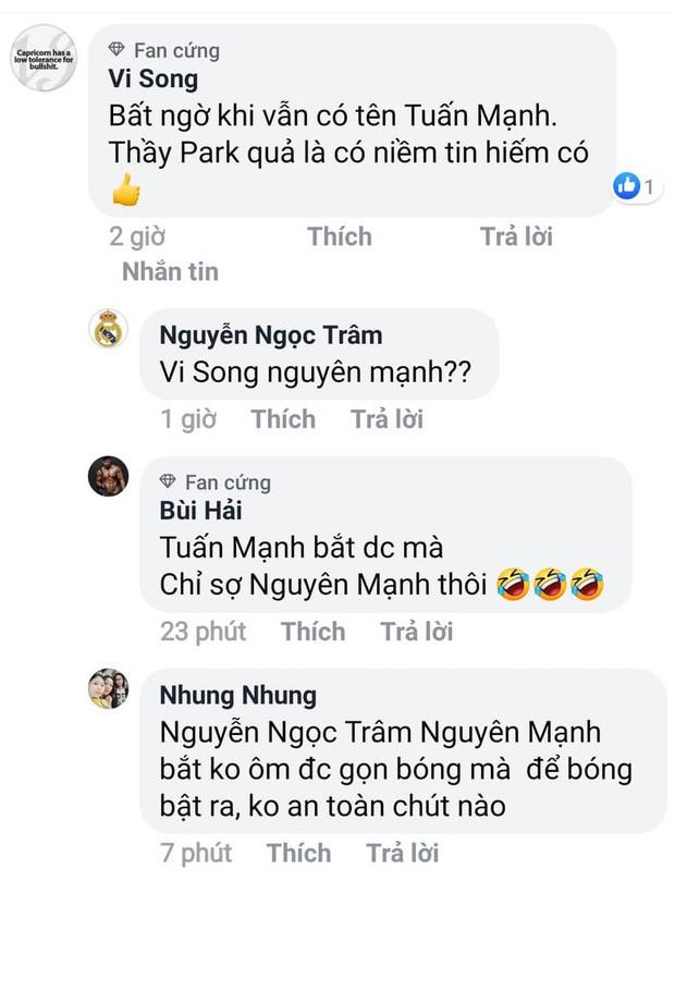 Fan tranh cãi nảy lửa vì HLV Park Hang-seo bỏ quên Văn Quyết, đặt dấu hỏi ở vị trí thủ môn - Ảnh 5.