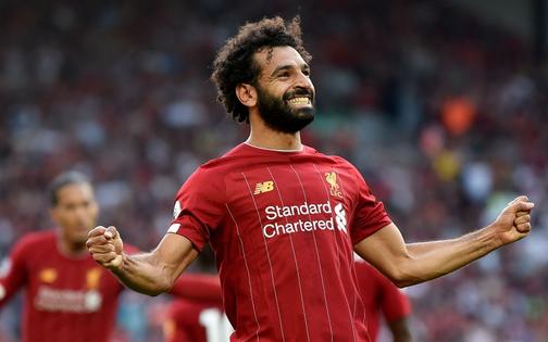 """""""Vua Ai Cập"""" Salah lập cú đúp, Liverpool thắng dễ Arsenal để độc chiếm ngôi đầu Ngoại hạng Anh"""