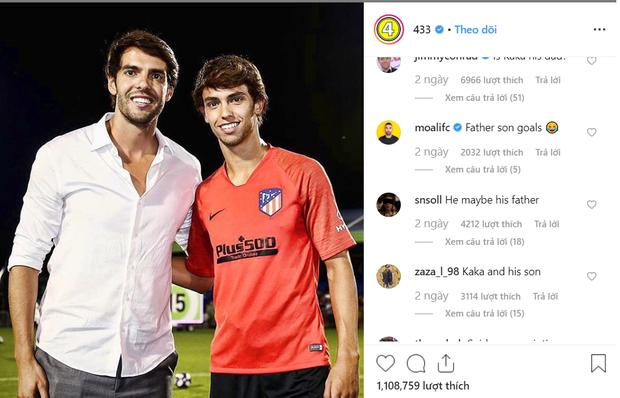 Chỉ cần một bức ảnh, Thiên thần Kaka cùng đàn em của Ronaldo khiến dân mạng phát sốt vì ngoại hình giống nhau đến khó tin - Ảnh 2.
