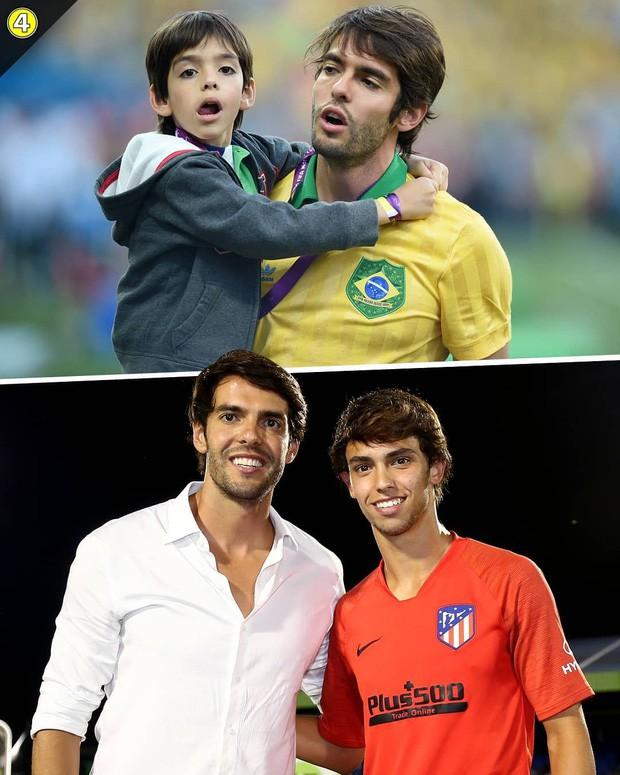 Chỉ cần một bức ảnh, Thiên thần Kaka cùng đàn em của Ronaldo khiến dân mạng phát sốt vì ngoại hình giống nhau đến khó tin - Ảnh 3.