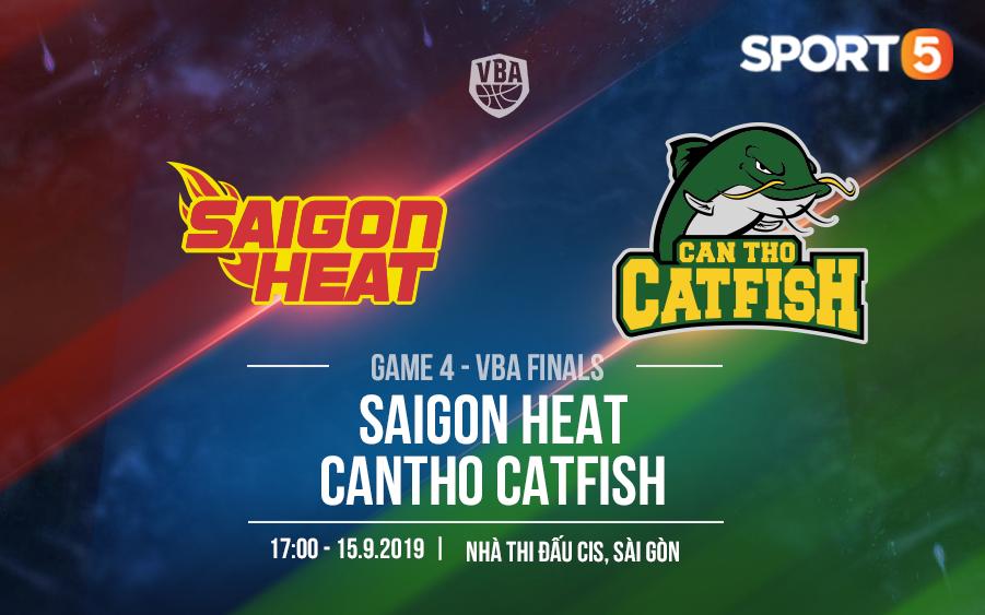 Saigon Heat – Cantho Catfish: Kịch bản khó lường nào cho Game 4 VBA Finals 2019?