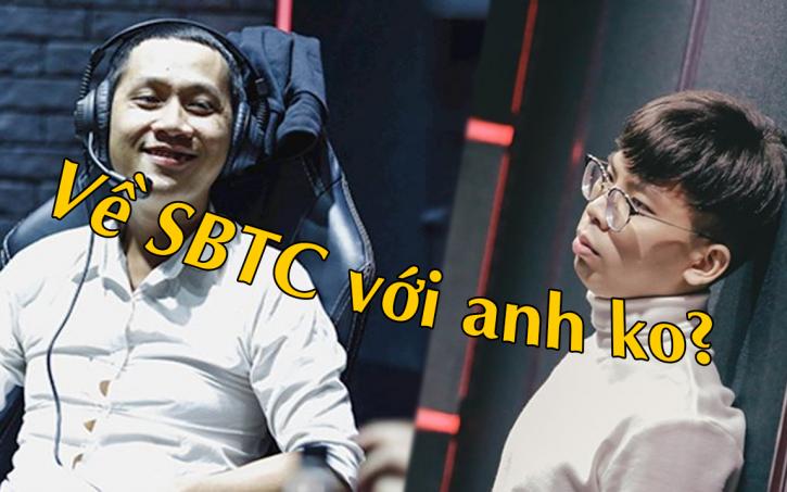 Thầy Giáo Ba chiêu mộ HLV Ren, quyết đưa SBTC tham dự giải đấu LMHT hàng đầu Việt Nam.