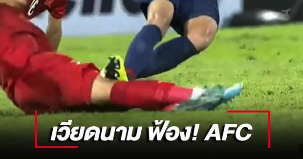 VFF kiện lên AFC: Tiền vệ Thái Lan đối diện án treo giò vì suýt khiến Quế Ngọc Hải chấn thương nặng - Ảnh 2.