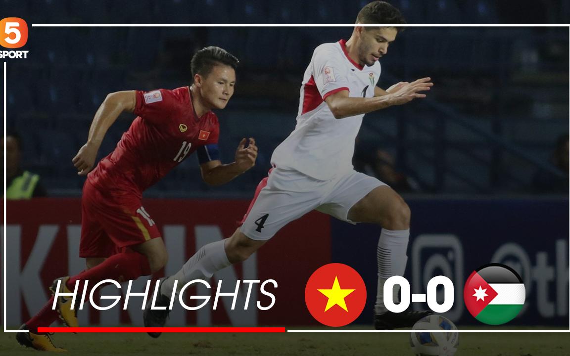 Highlights U23 Việt Nam 0-0 U23 Jordan | Trận hoà cân não của thầy trò HLV Park Hang-seo