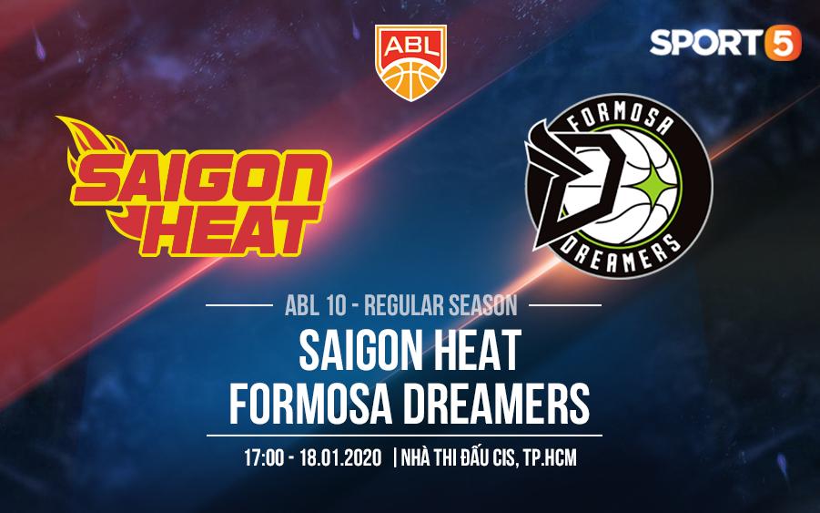 """Tái ngộ """"người cũ"""" ở sân CIS, Saigon Heat quyết tâm gây bất ngờ trước Formosa Dreamers"""