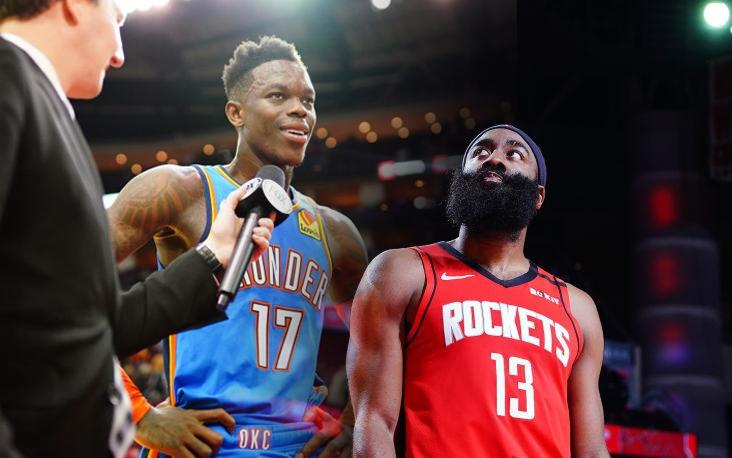 James Harden tái lập kỷ lục buồn ở vạch 3 điểm, Houston Rockets thất thủ ngay sân nhà trước Oklahoma City Thunder