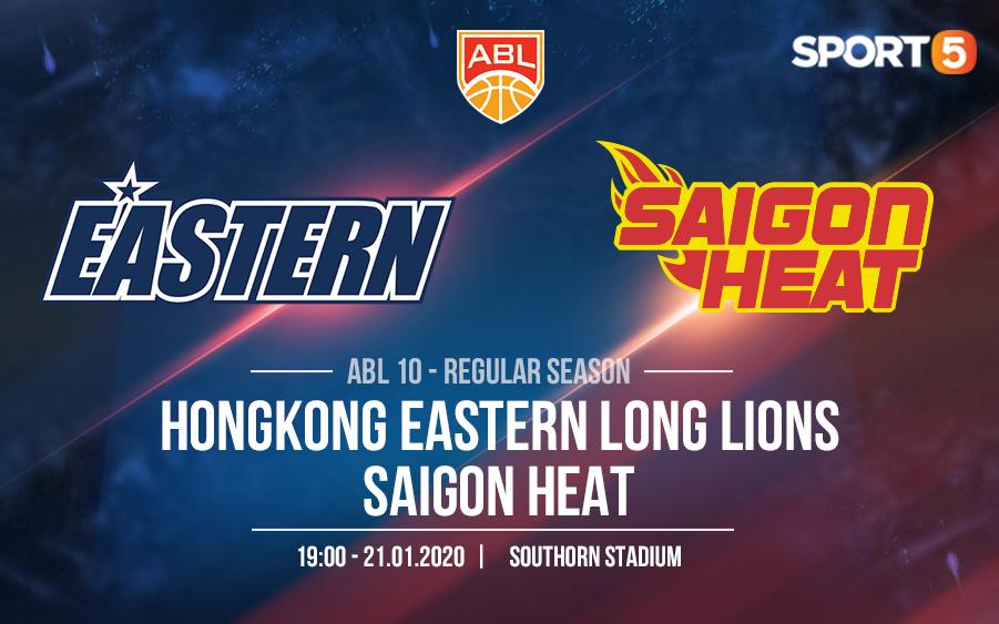 Tiếp tục thay thế ngoại binh, Saigon Heat đối mặt muôn vàn thử thách trong chuyến hành quân đến Honglong Eastern Long Lions
