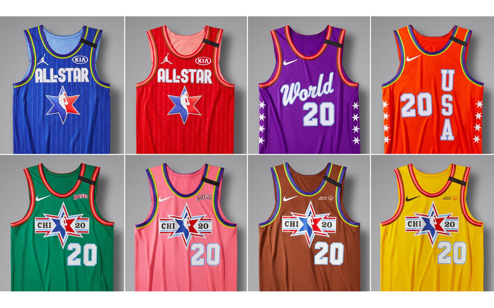 Đồng phục thi đấu All Star 2020 chính thức ra mắt: Vinh danh lịch sử của thành phố Chicago