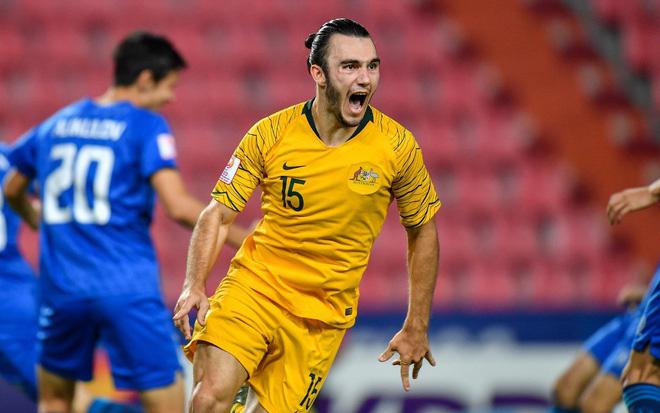 Đánh bại U23 Uzbekistan với tỉ số 1-0, U23 Australia giành vé dự Olympic sau 12 năm chờ đợi