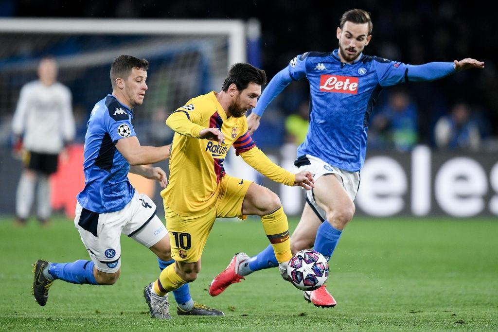 Messi bị phong tỏa hoàn toàn, Barca phải nhờ tới trai đẹp người Pháp mới thoát toang tại giải đấu danh giá nhất châu Âu - Ảnh 1.