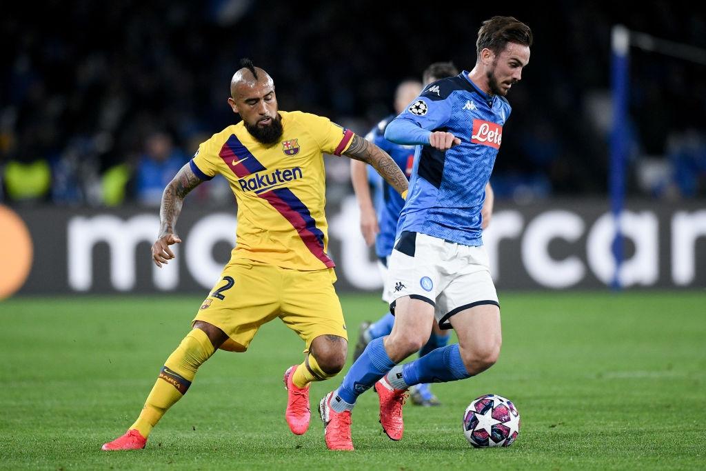Messi bị phong tỏa hoàn toàn, Barca phải nhờ tới trai đẹp người Pháp mới thoát toang tại giải đấu danh giá nhất châu Âu - Ảnh 3.