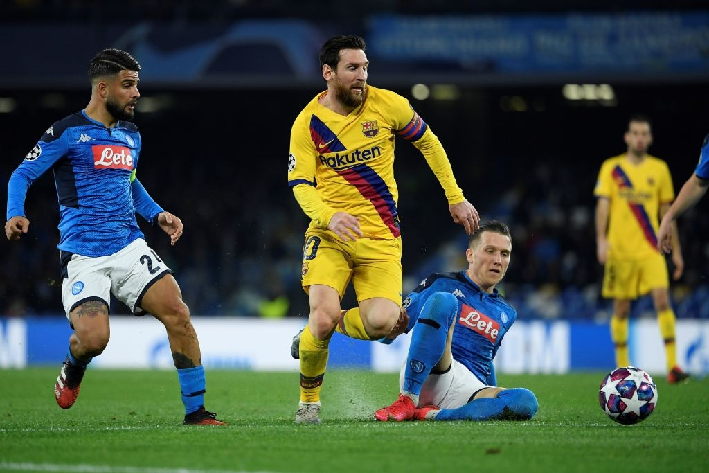 Messi bị phong tỏa hoàn toàn, Barca phải nhờ tới trai đẹp người Pháp mới thoát toang tại giải đấu danh giá nhất châu Âu - Ảnh 5.