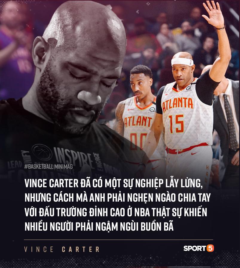 NBA hoãn vô thời hạn, kết thúc dang dở cho chuyến hành trình của cầu thủ 4 thập kỷ Vince Carter ? - Ảnh 4.