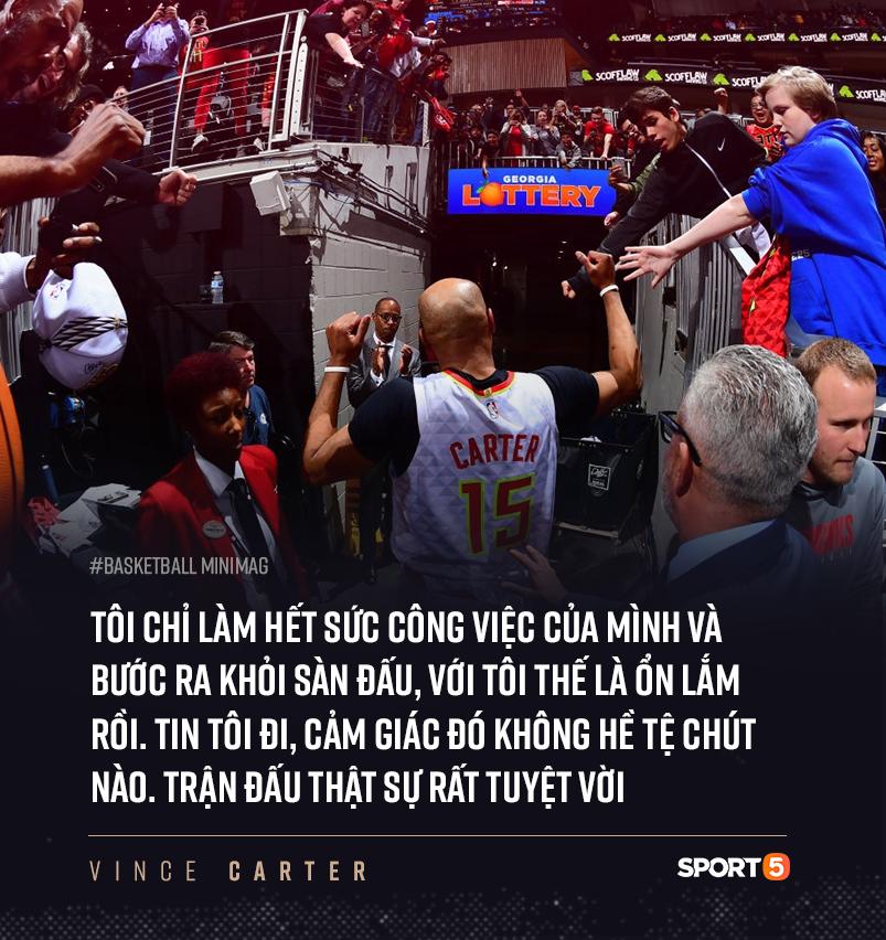 NBA hoãn vô thời hạn, kết thúc dang dở cho chuyến hành trình của cầu thủ 4 thập kỷ Vince Carter ? - Ảnh 5.