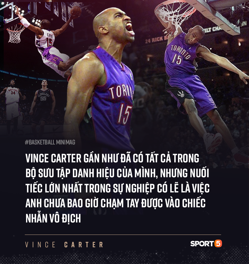 NBA hoãn vô thời hạn, kết thúc dang dở cho chuyến hành trình của cầu thủ 4 thập kỷ Vince Carter ? - Ảnh 8.