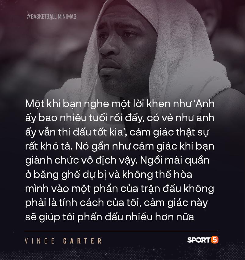 NBA hoãn vô thời hạn, kết thúc dang dở cho chuyến hành trình của cầu thủ 4 thập kỷ Vince Carter ? - Ảnh 11.