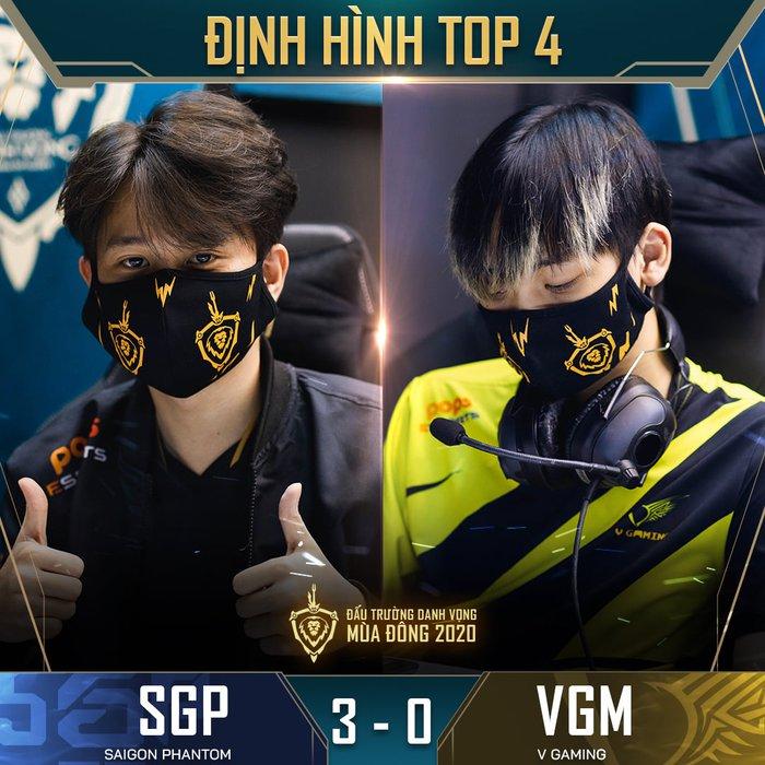 Kết quả ĐTDV mùa Đông 2020 ngày 11/10: Không có bất ngờ xảy ra, FapTV và Saigon Phantom đều có chiến thắng dễ dàng 3-0 tại vòng 13 - Ảnh 4.