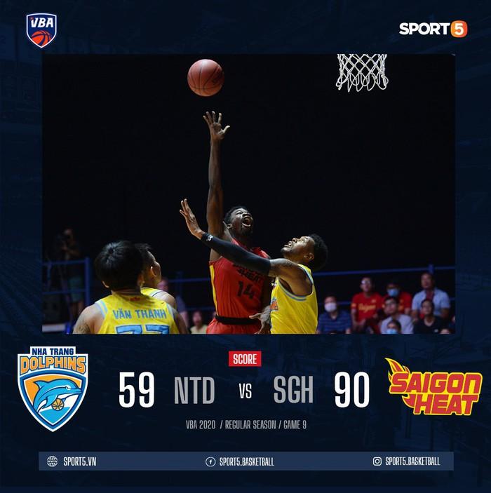 Saigon Heat thắng áp đảo tân binh Nha Trang Dolphins bằng một sức mạnh toàn diện - Ảnh 3.