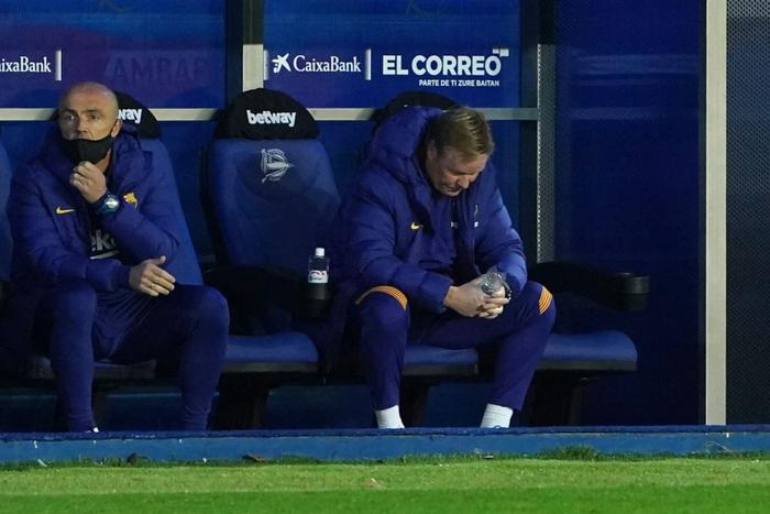Thắng thuyết phục tại Champions League nhưng Barca và Messi lại ngã ngựa ở La Liga - Ảnh 9.
