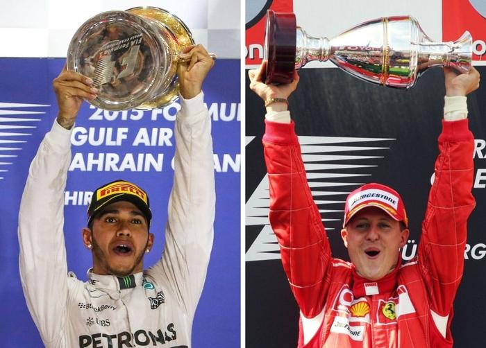 Lewis Hamilton rơi nước mắt trong ngày cân bằng kỷ lục 7 lần vô địch F1 thế giới của huyền thoại Michael Schumacher - Ảnh 4.